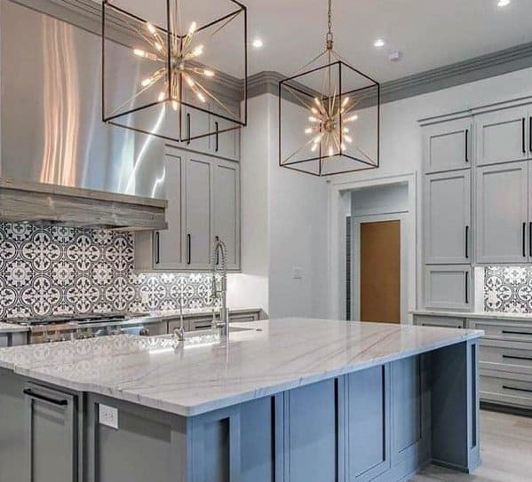 Awesome Kitchen Island Lighting Ideas Star Square Large Pendants