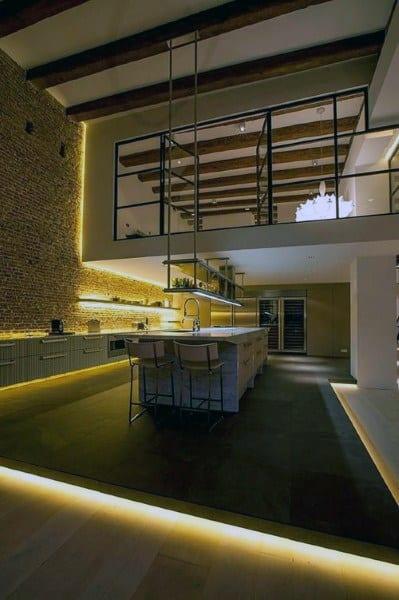 Awesome Loft Ideas With Led Lighting