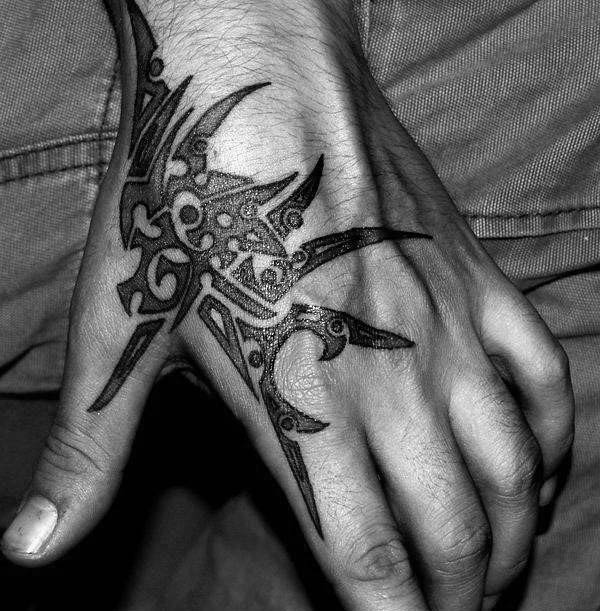 Awesome Male Tribal Tattoo Design Inspiration
