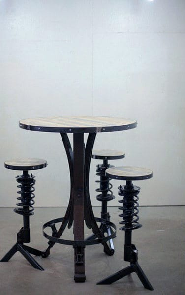 Awesome Man Caves Ideas Furniture Bar Stool With Springs
