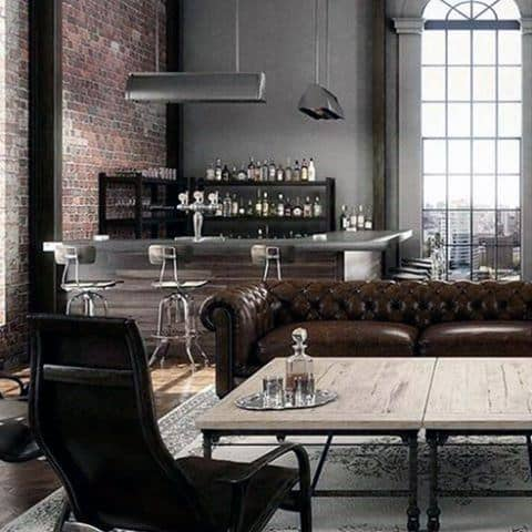 Awesome Man Caves Manly Interior Design Ideas
