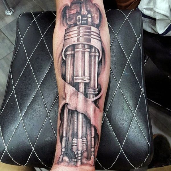 60 terminator tattoo designs for men manly mechanical ink ideas. Black Bedroom Furniture Sets. Home Design Ideas