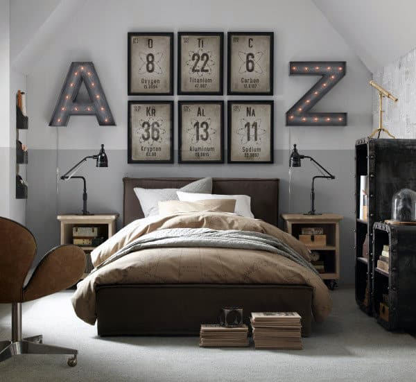 bedroom picture wall ideas