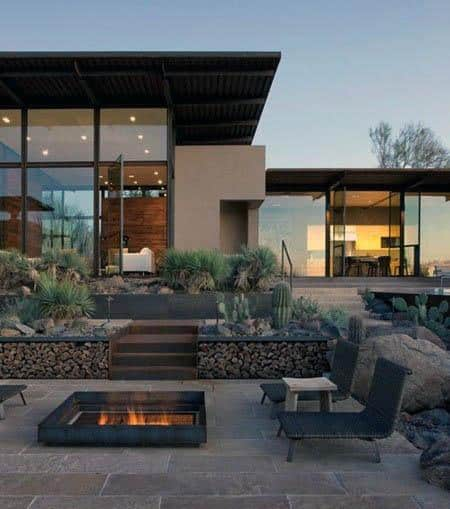 Awesome Metal Mild Steel Patio Firepit Ideas