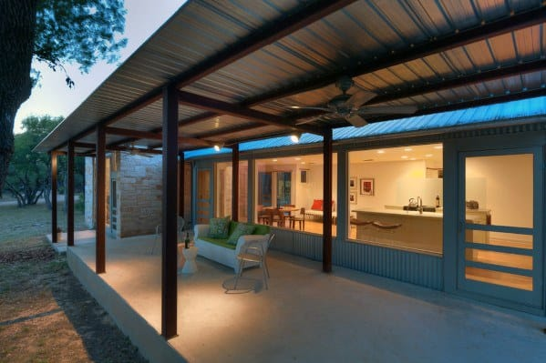 Awesome Metal Patio Roof Ideas