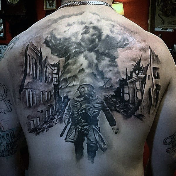 Awesome Military Tattoos For Men On Back