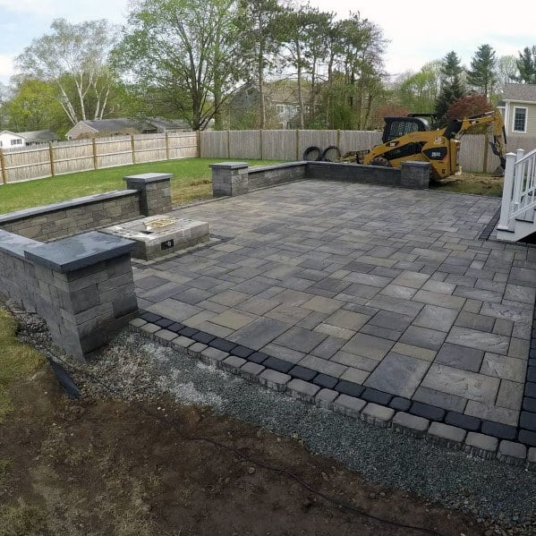 Charming Awesome Paver Patio Ideas For Backyard