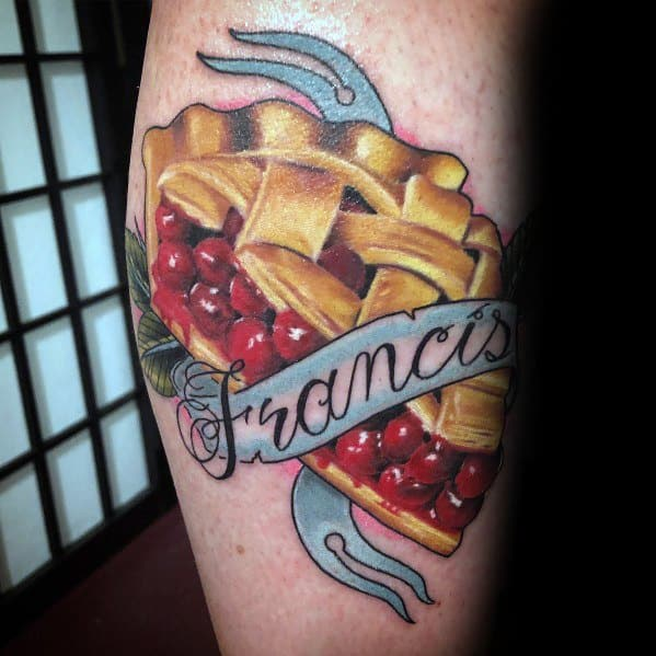 Awesome Pie Tattoos For Men