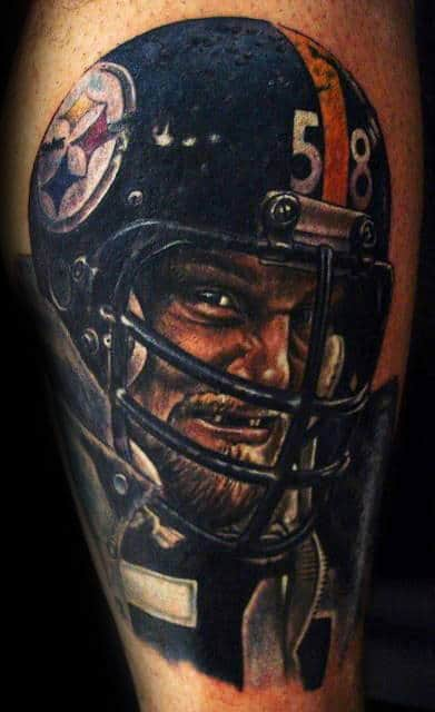 Awesome Pittsburgh Steelers Football Player Mens Arm Tattoo Inspiration