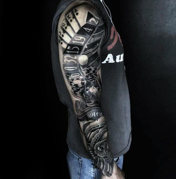 Tattoo Ideas Men Sleeve: 60 Awesome Sleeve Tattoos For Men