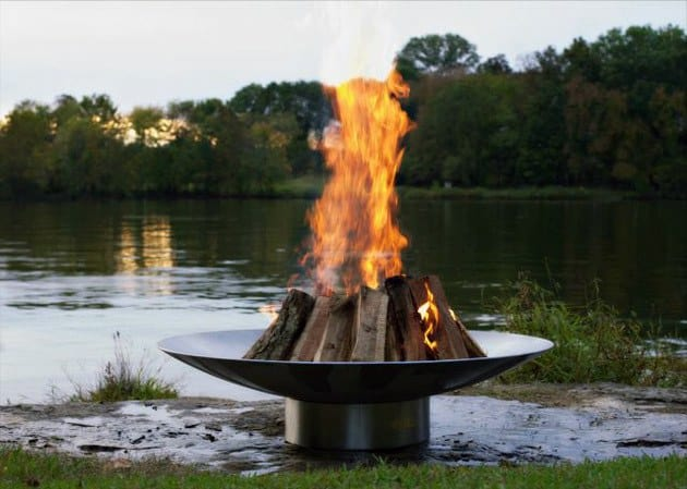 Awesome Round Metal Fire Pit Ideas