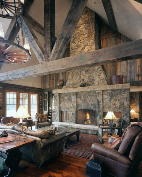 Awesome Rustic Living Room Ideas