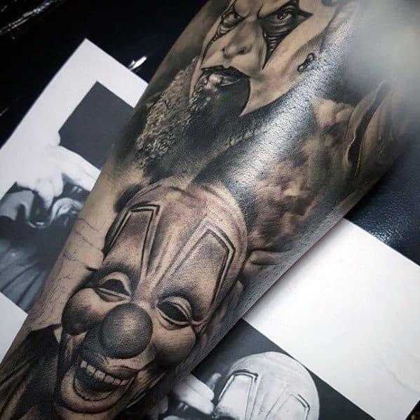 Awesome Slipknot Tattoos For Men