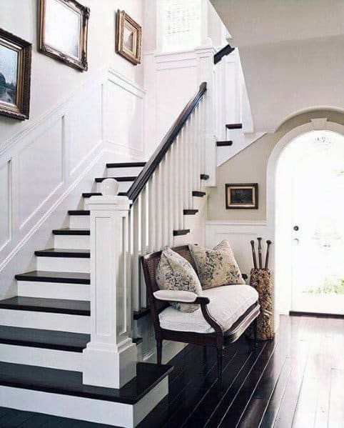 Awesome Stair Trim Ideas Chair Rail