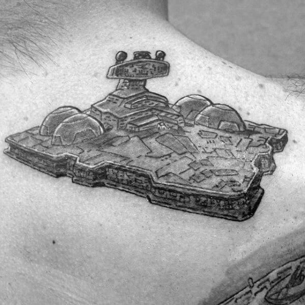 Awesome Star Destroyer Tattoos For Men