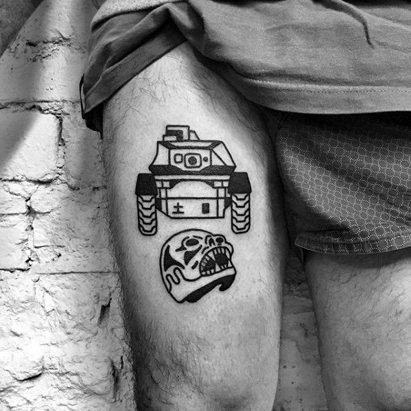 Awesome Tank Tattoos For Men
