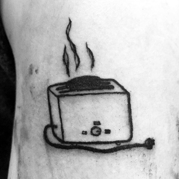 Awesome Toast Tattoos For Men