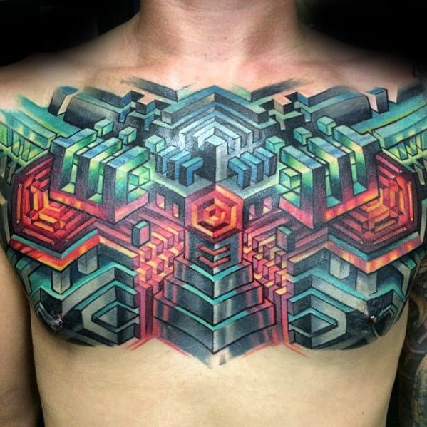 Awesome Trippy Tattoos For Men