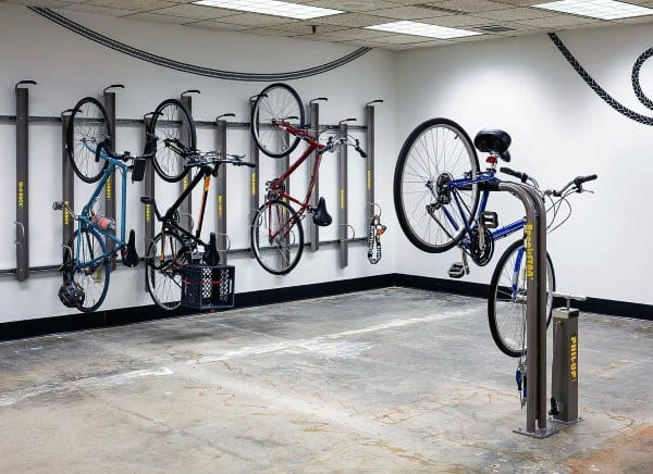 Awesome Wall Bicycle Storage Ideas