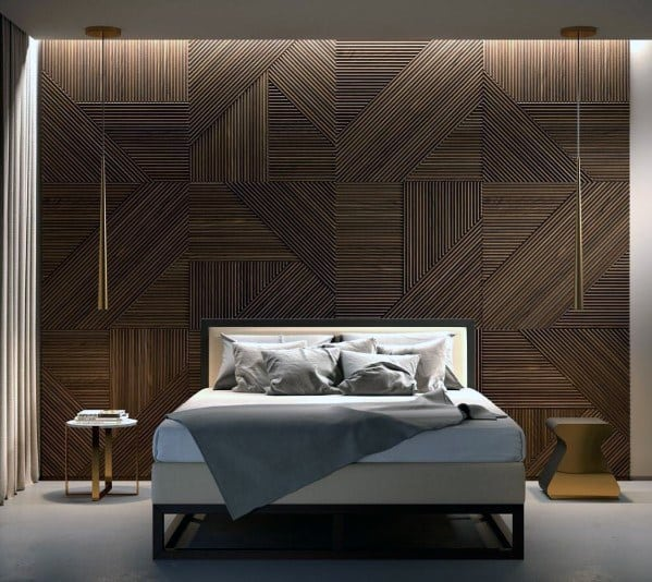 Create An Accent Wall With Art Layout Ideas: Top 70 Best Wood Wall Ideas