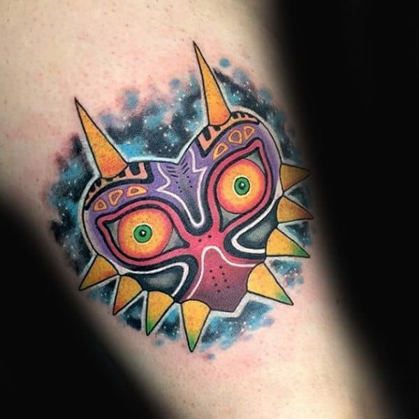 Awesome Zelda Majoras Mask Small Guys Tattoo