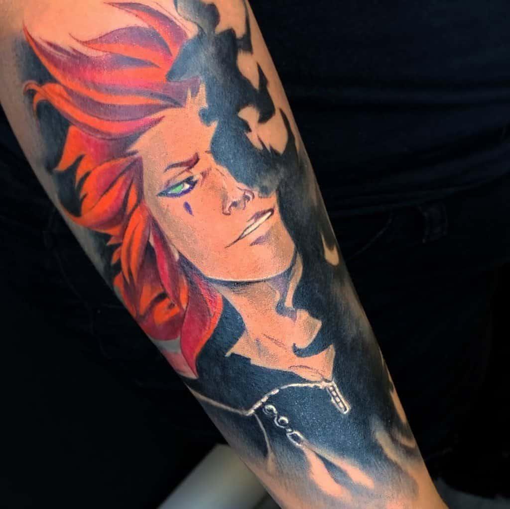 Axel Kingdom Hearts Tattoo
