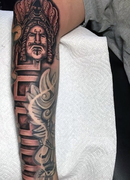 Aztec Band Tattoos For Men