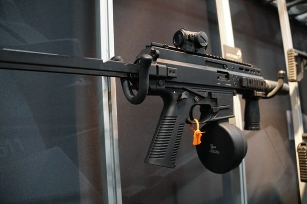 B And T Sbr With Drum Shot Show 2018