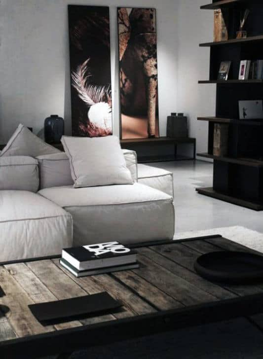 Bachelor Living Room