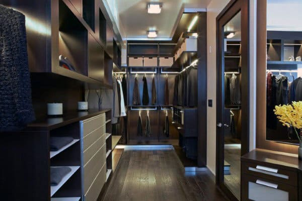 top 100 best closet designs for men walk in wardrobe ideas