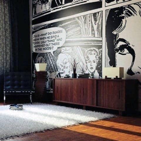 Bachelor Pad Living Room Decorating