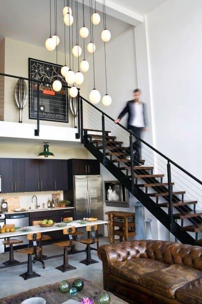 Bachelor Pad Luxury Loft Ideas