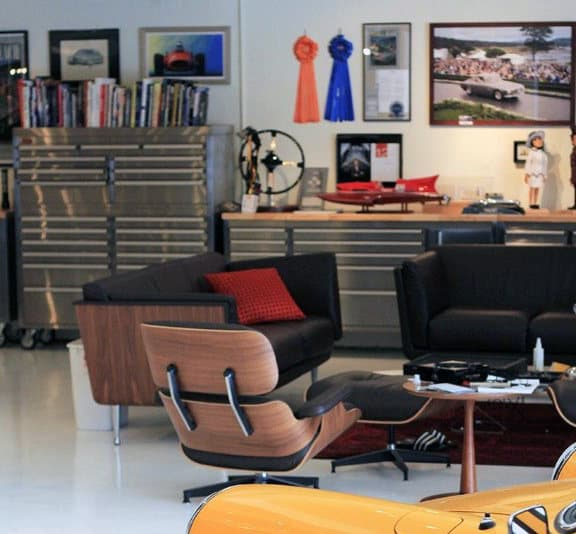 50 Man Cave Garage Ideas - Modern To Industrial Designs