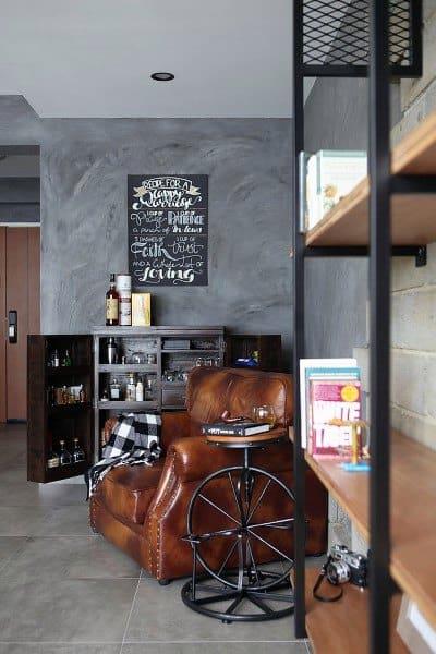 Bachelor Pad Mini Bar Ideas