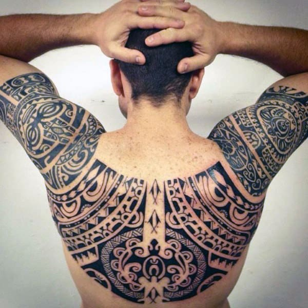Maori Tattoo For Women: 100 Maori Tattoo Designs For Men -New Zealand Tribal Ink Ideas