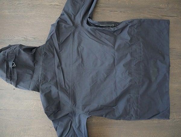 Back Black Holden M 51 3 Layer Fishtail Jacket For Men