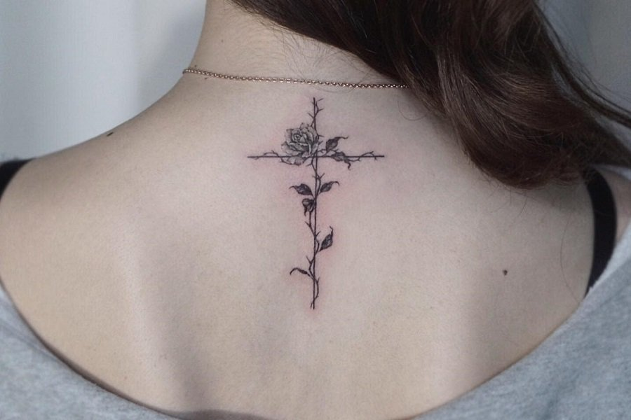 Top 63 Best Cross Tattoo Ideas for Women – [2021 Inspiration Guide]