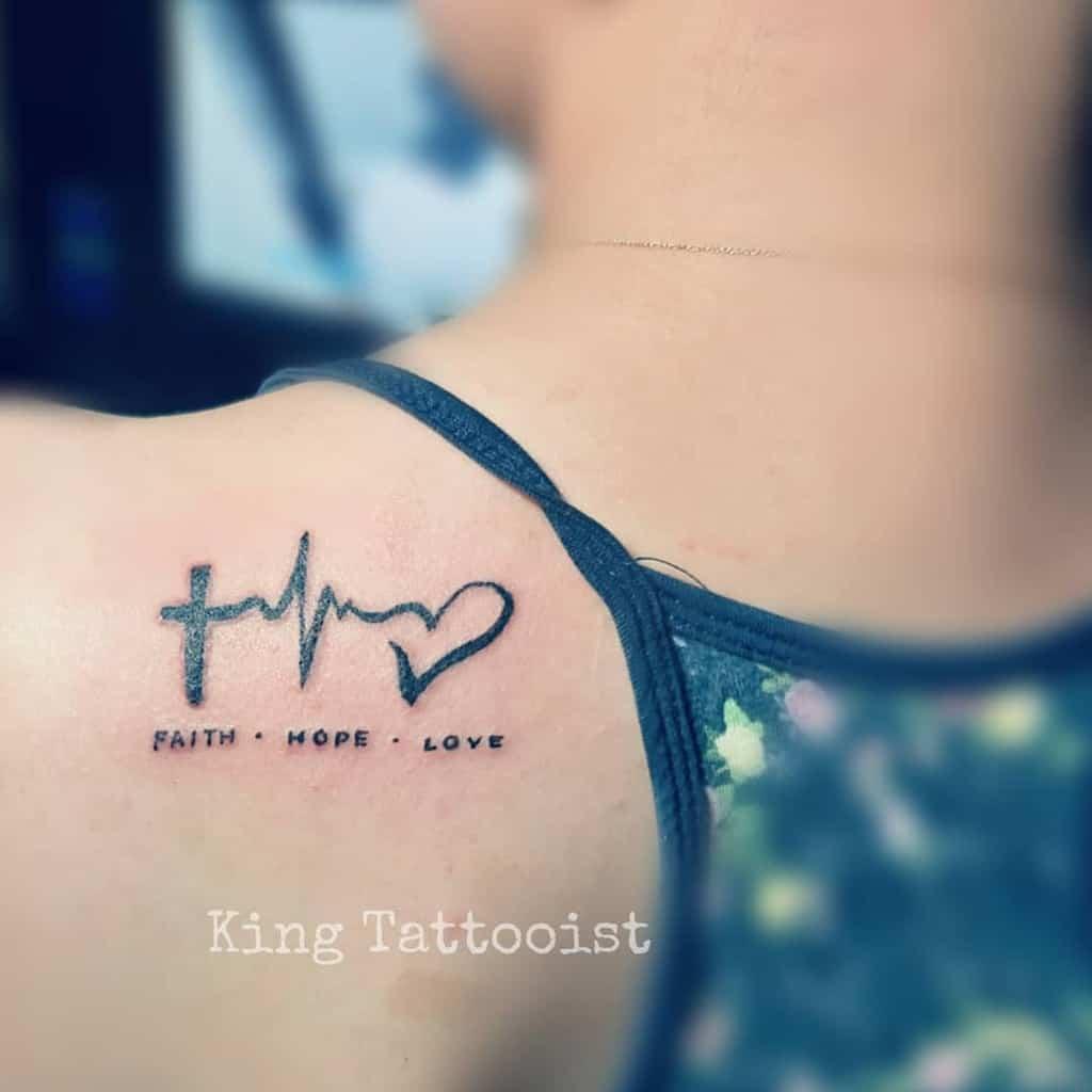 back faith hope love tattoos jkingtattooist