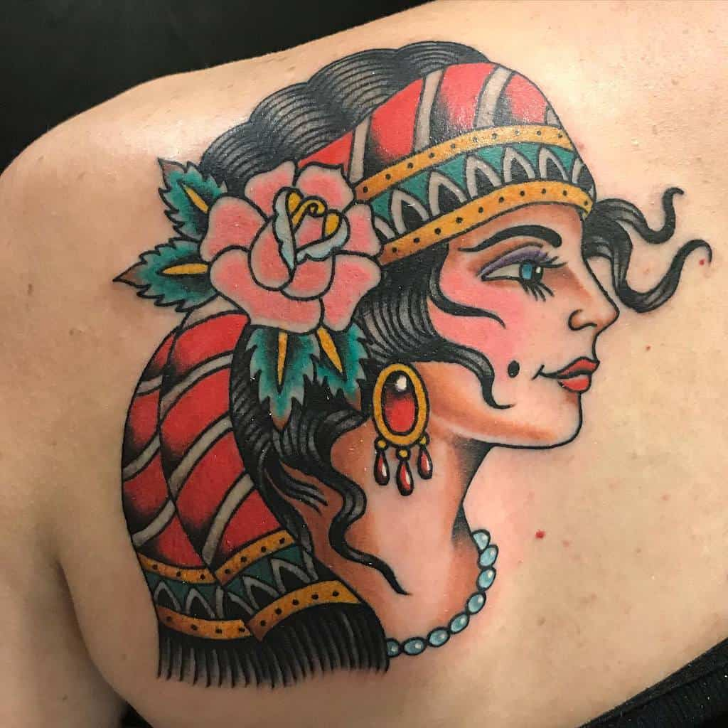 back gypsy rose tattoos ssdillontattoos
