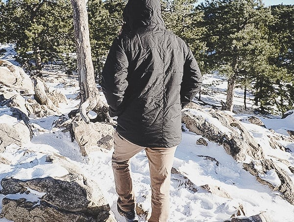 Back Hiking Mens Winter Topo Designs Mountain Jacket Review