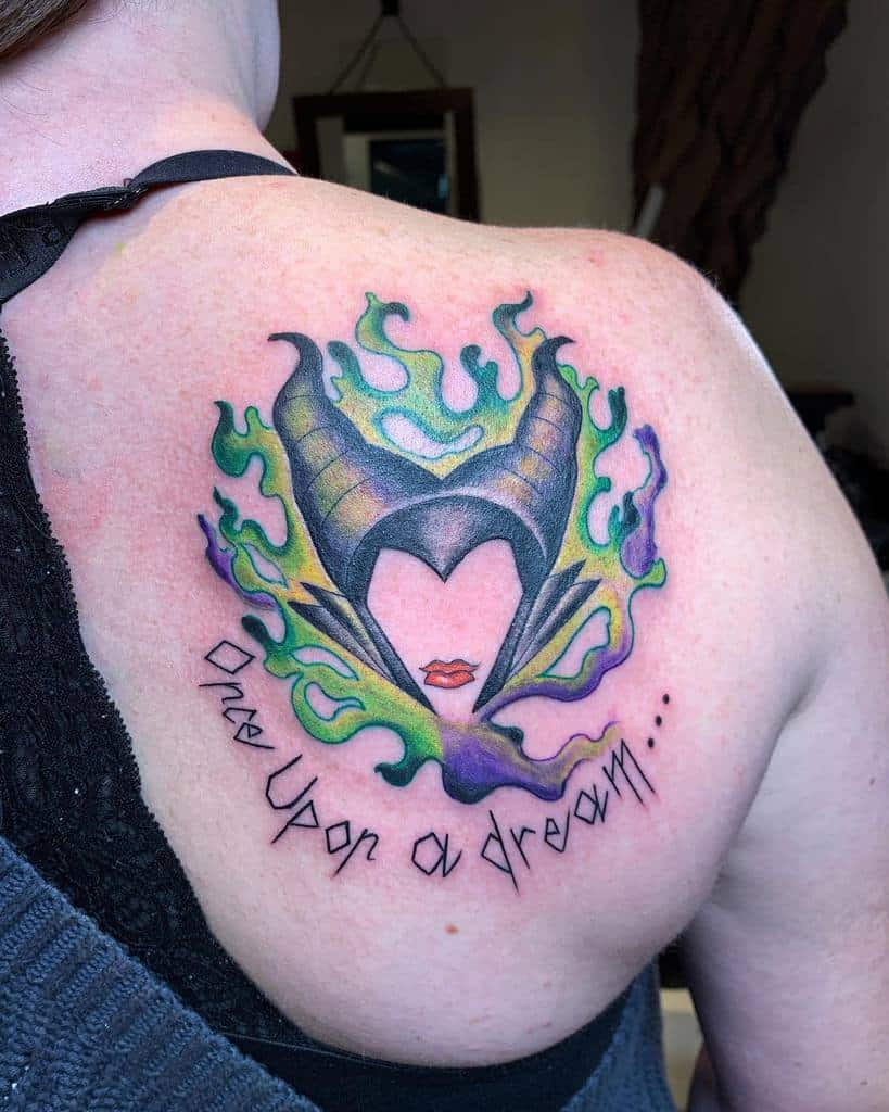 Back Maleficent Tattoos Diggy Lupitatattoo