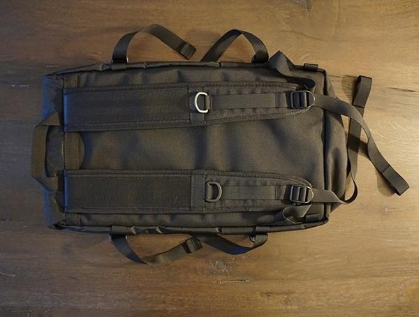 Back Mens Ballistic Black And Black Leather Topo Designs Klettersack Backpack