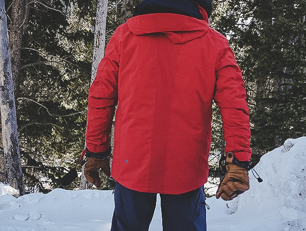 Back Mens Obermeyer Kodiak Jacket Review