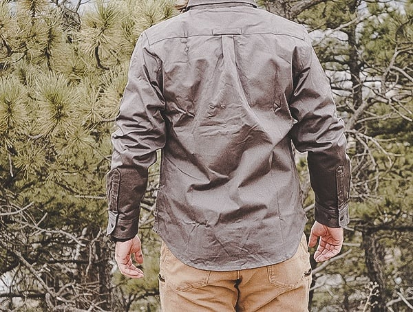 Back Mens United By Blue Holt Work Shirt Review Outdoors