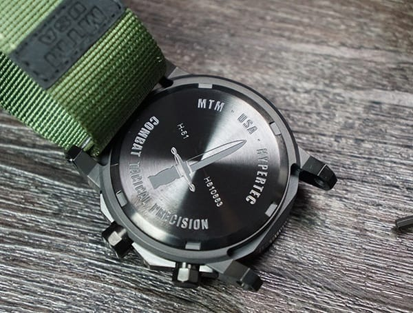 Back Of Case Mtm Special Ops Mens Hypertec H 61 Black Watch Review