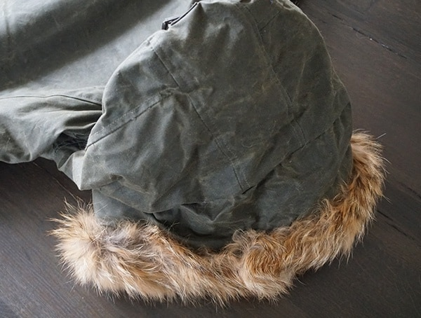 Back Of Fur Lined Hood Mens Cockpit Usa Mountain Ranger Military Mens Jacket