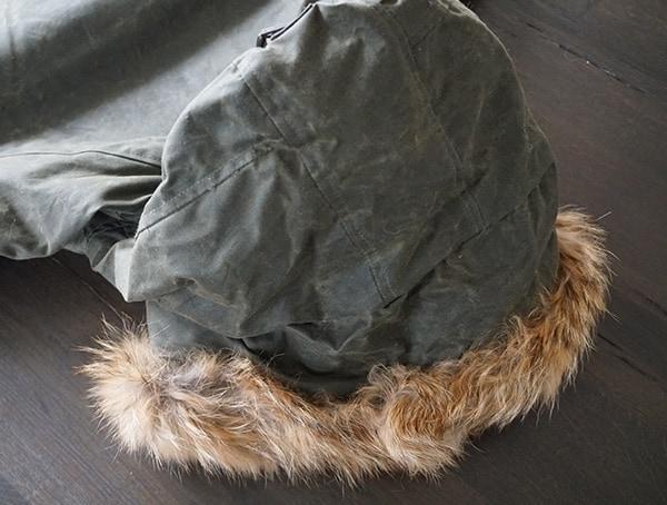 Back Of Fur Lined Hood Mens Cockpit Usa Mountain Ranger Military Mens Jacket