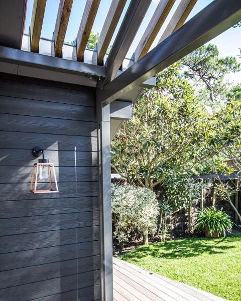 Back Of House Porch Pergola Ideas