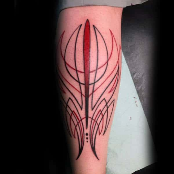 30 Pinstripe Tattoos For Men
