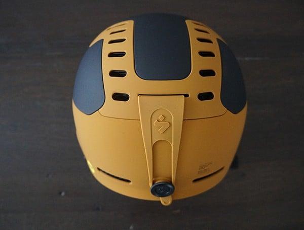 Back Of Ski Snowboard Helmet Sweet Protection Switcher Mips